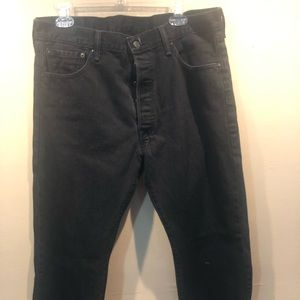 🔥Used Levi's 501 in black and in great condition